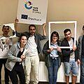 Organizatorzy z Cypru i ich grupa