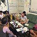 Rozmowy w biurze organizacji Co Efficient