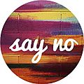 Say No - Logo projektu