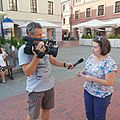 Wywiad dla Zamojskiej Telewizji Kablowej