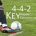 4-4-2 Key Players Competences